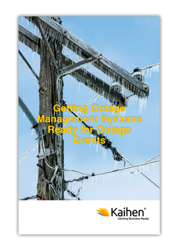 Outage management brochure cover